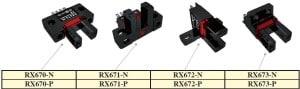 Czujnik optyczny widełkowy RX67 firmy RIKO