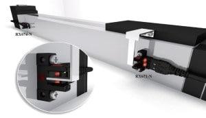 Czujnik optyczny widełkowy RX67 firmy RIKO aplikacja 2
