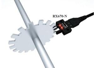 Czujnik optyczny widełkowy RX67 firmy RIKO aplikacja 3